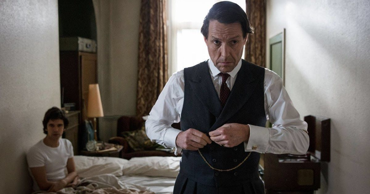 """Hugh Grant thinks that Phoenix Buchanan his character from """"Paddington 2"""" is """"possibly gay.""""  In Amazon's """"A Very English Scandal"""" Grant has sex scenes with costar Ben Whishaw who provides the voice for Paddington bear.  Grant talked about filming those scenes with Whishaw.  Hugh Grant stars as a corrupt British politician in """"A Very English Scandal"""" which dropped on Amazon Prime Friday. The series followsJeremyThorpe's 1979 trial on charges that he conspired to murder his former lover Norman Scott played by Ben Whishaw.  In """"A Very English Scandal"""" Grant has intimate sex scenes with his costar Whishaw. This is a strange detail because earlier in 2018 Grant played villain Phoenix Buchanan in """"Paddington 2"""" and Whishaw provided the voice for Paddington bear.  At a New York City tea hosted by Amazon in June Grant sat down with Business Insider and other journalists to discuss the series. In our interview Grant speculated that his """"Paddington 2"""" character Buchanan is gay and reflected on filmingvery different scenes in """"A Very English Scandal"""" with his """"Paddington 2"""" costar.  I asked Grant if he knew that he would have sex scenes with Whishaw the voice of Paddington bear when he signed onto """"A Very English Scandal.""""  """"That's why I took the role"""" Grant responded.  Grant also said there wasn't much talk about his sex scenes with Whishaw.  """"We just got on with it really"""" he said. """"The scenes where we're in love and I'm passionately kissing him and rolling around in the bed with him very little talk. Just 'I think I'm going to stand here kiss him and then put him on the bed.' I remember one time I pushed him on the bed and I thought 'Well I got one with kissing him but I better try something else: I'll lick his nipples!'""""  Thorpe is one of the main characters in """"A Very English Scandal"""" but  like Buchanan in """"Paddington 2""""  he's also the primary villain. Grant's career took off due to his roles in romantic movies like """"Four Weddings and a Funeral"""" and """"Notting Hill"""" so his"""