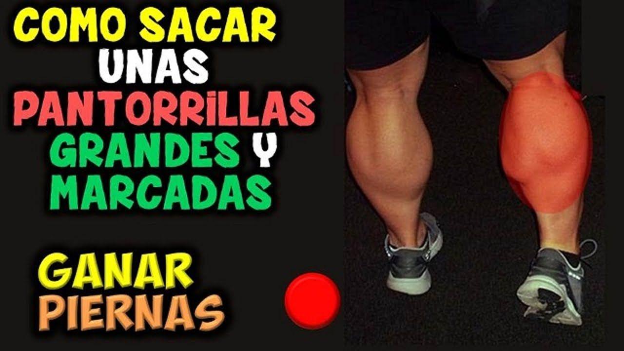 ejercicios para sacar musculos en las pantorrillas
