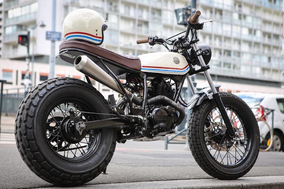 Yamaha Tw 125cc The Light Shade Custom Morex Yamaha Tw 125cc Bike Ride Lifestyle Moto Classic Road Bike Motorcycle New Dirt Bikes