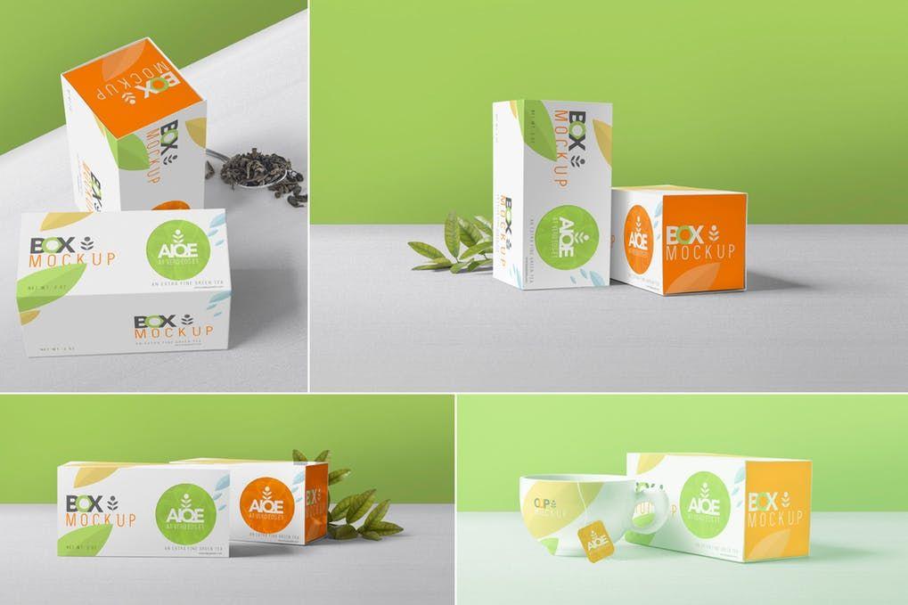 19 Wonderful Tea Mockup Psd Templates Mockuptree Box Mockup Tea Packaging Tea Packaging Design