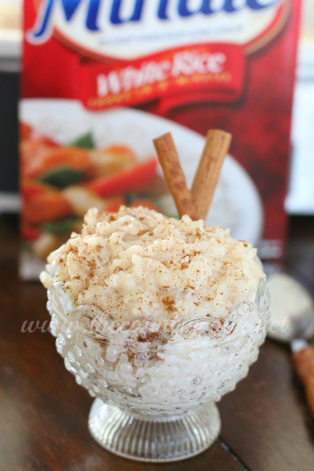 crockpot rice pudding :)