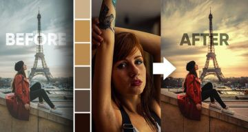 How To Copy Colors From An Image And Apply Them On Another Image In Photoshop