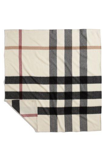 d3a53f309b3 Burberry baby blanket...too cute!