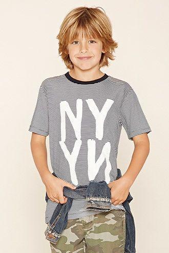 unicorn print tee in 2020  boys surfer haircut boy