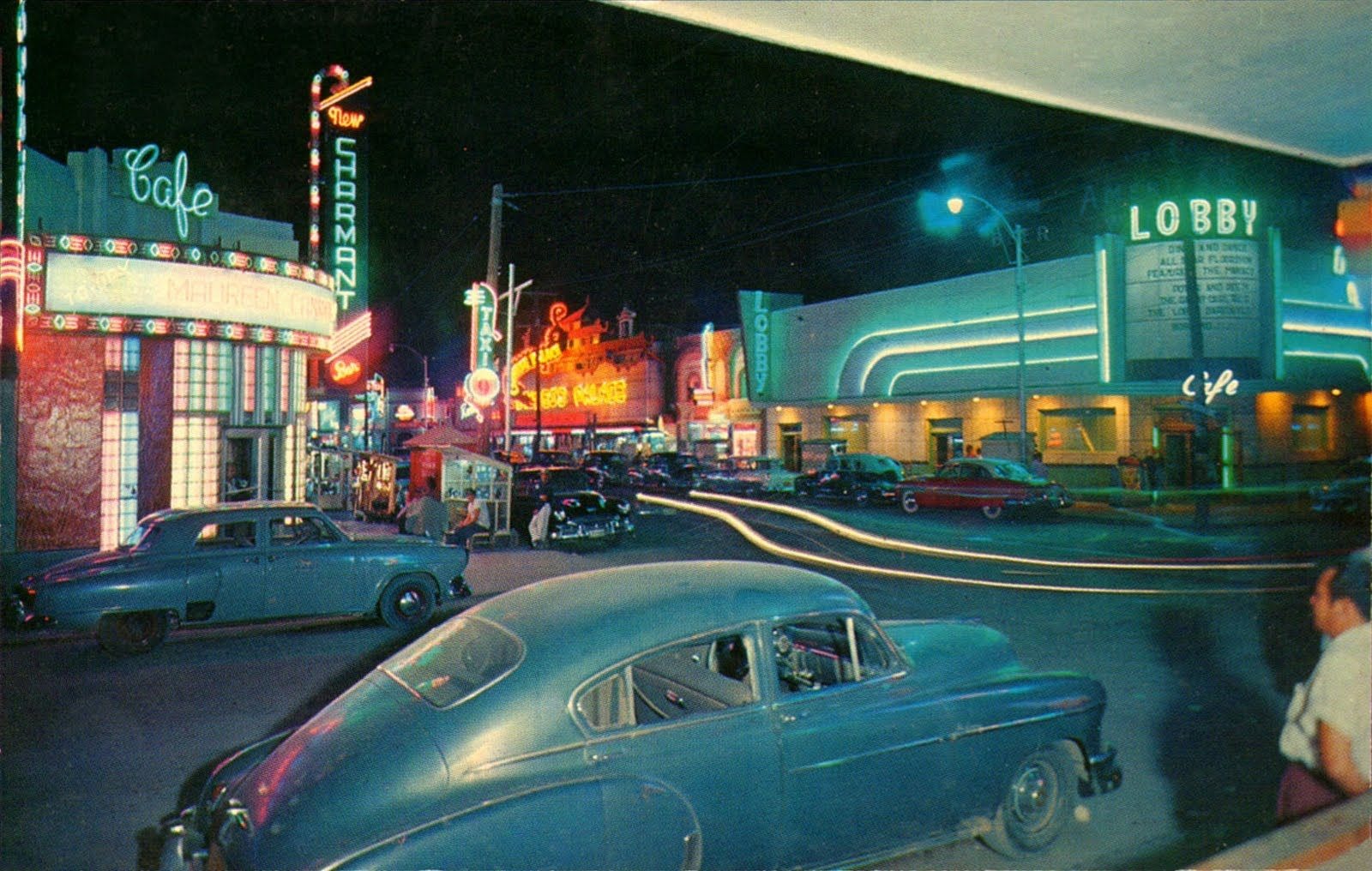 vintage everyday: Mexico in The 1950s-1960s   Chihuahua mexico, Street  scenes, Mexico