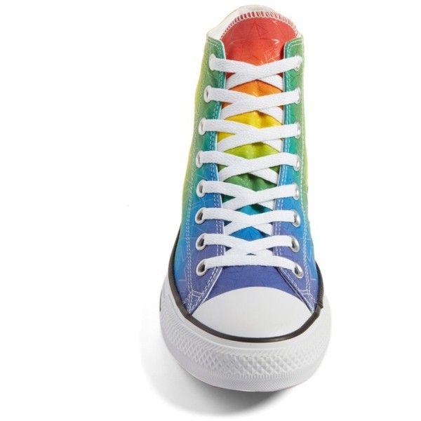 Women s Converse Chuck Taylor All Star Pride High Top Sneaker (83 AUD) ❤  liked on Polyvore featuring shoes 5d79aab05