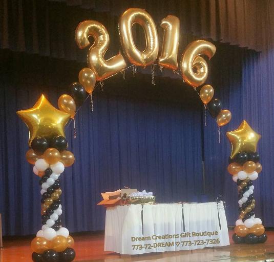 101 Fiestas Decora Tu Graduación Con Arreglos De Globos