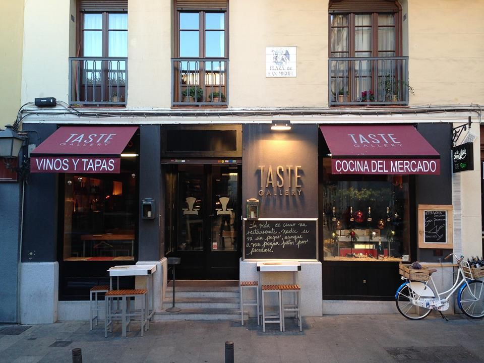Taste Gallery.- Un restaurante único en el Centro de Madrid.- Cocina mediterránea con un claro acento castizo