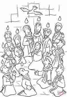coloring pages sunday school coloring pages pentecost