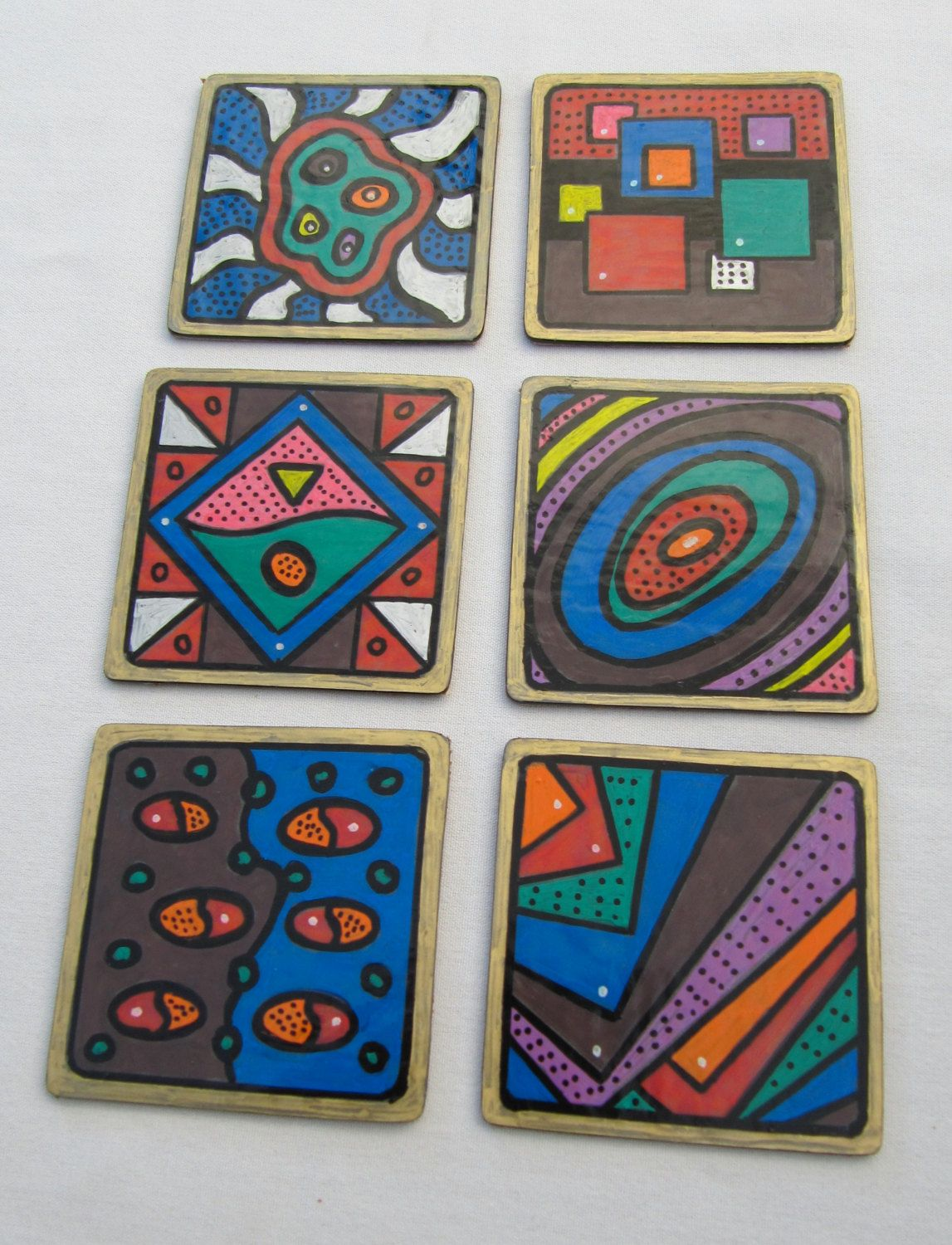 Hand Cut Coasters by IanG Crafty Endeavours on Etsy