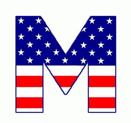 letter m related pictures famous letter m clip art fictional rh pinterest com