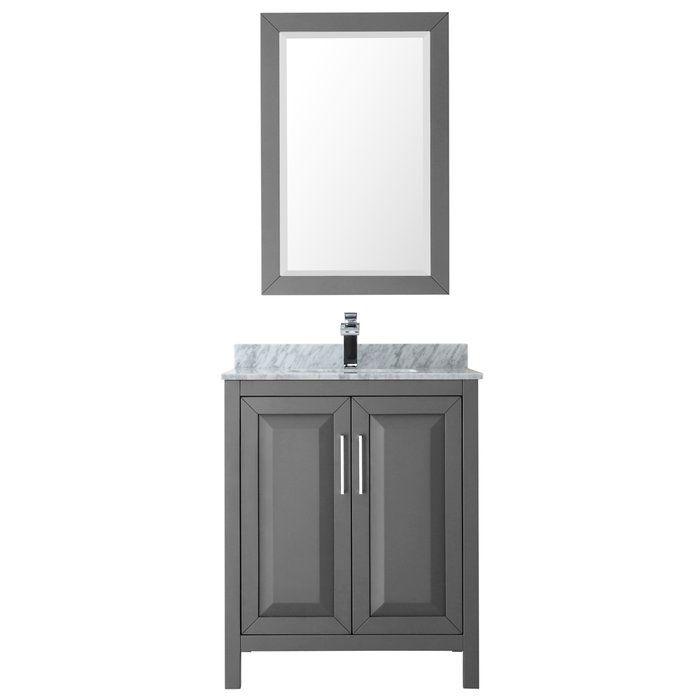 Daria 30 Single Bathroom Vanity Set With Mirror Bathroom Vanity Decor Vanity Set With Mirror Single Bathroom Vanity