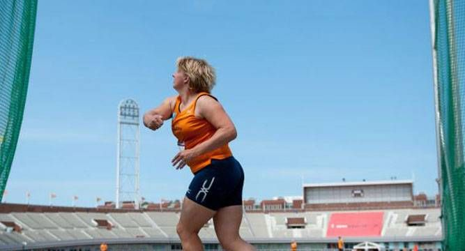 Former Olympic discus champion Ria Stalman admits doping