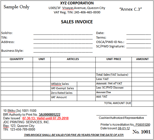 Sample Of Sales Invoice Receipt Google Search Sample Resume Invoice Template Resume Template Free
