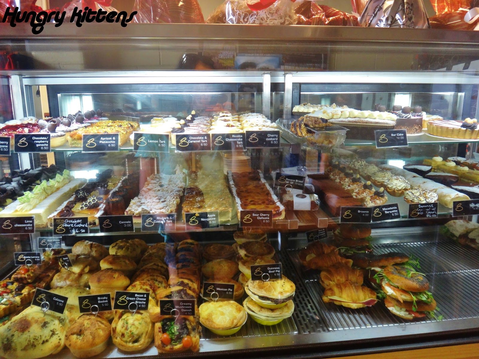 Decent Selection Of Cakes And Pastries Show Read-eat Items Filled