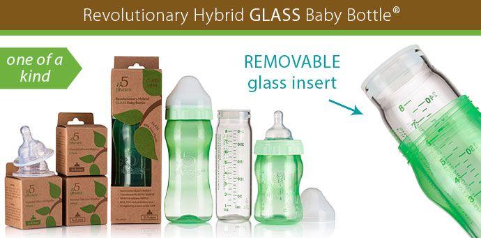Removable Insert baby bottle
