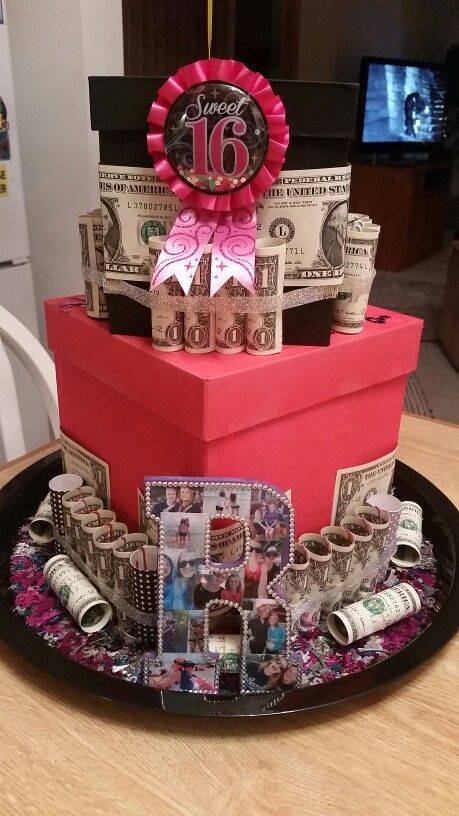 The Money Cake I Made For My Sisters Sweet Sixteen Arts