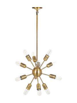 Raging Light Solace Pendant From Overhead Lighting On Gilt - Overhead pendant lighting