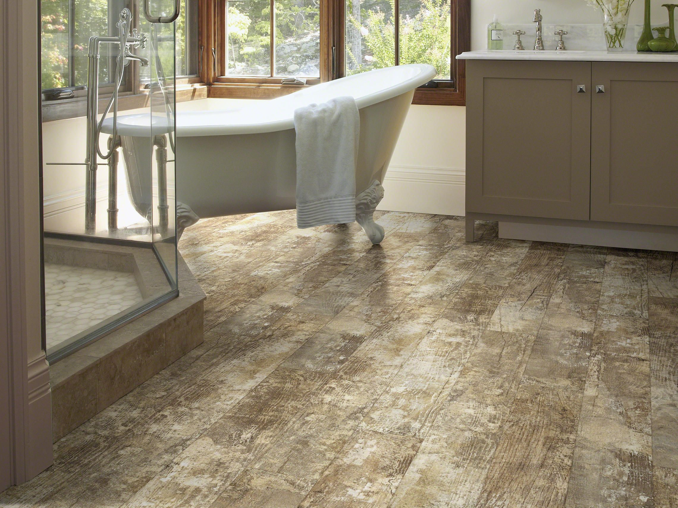 """Shaw BELLA Room View in """"Lucca"""" Shaw luxury vinyl"""