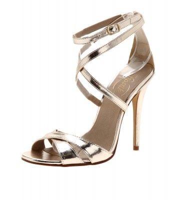 Superbe Marissa Gold   Bridesmaid Shoes