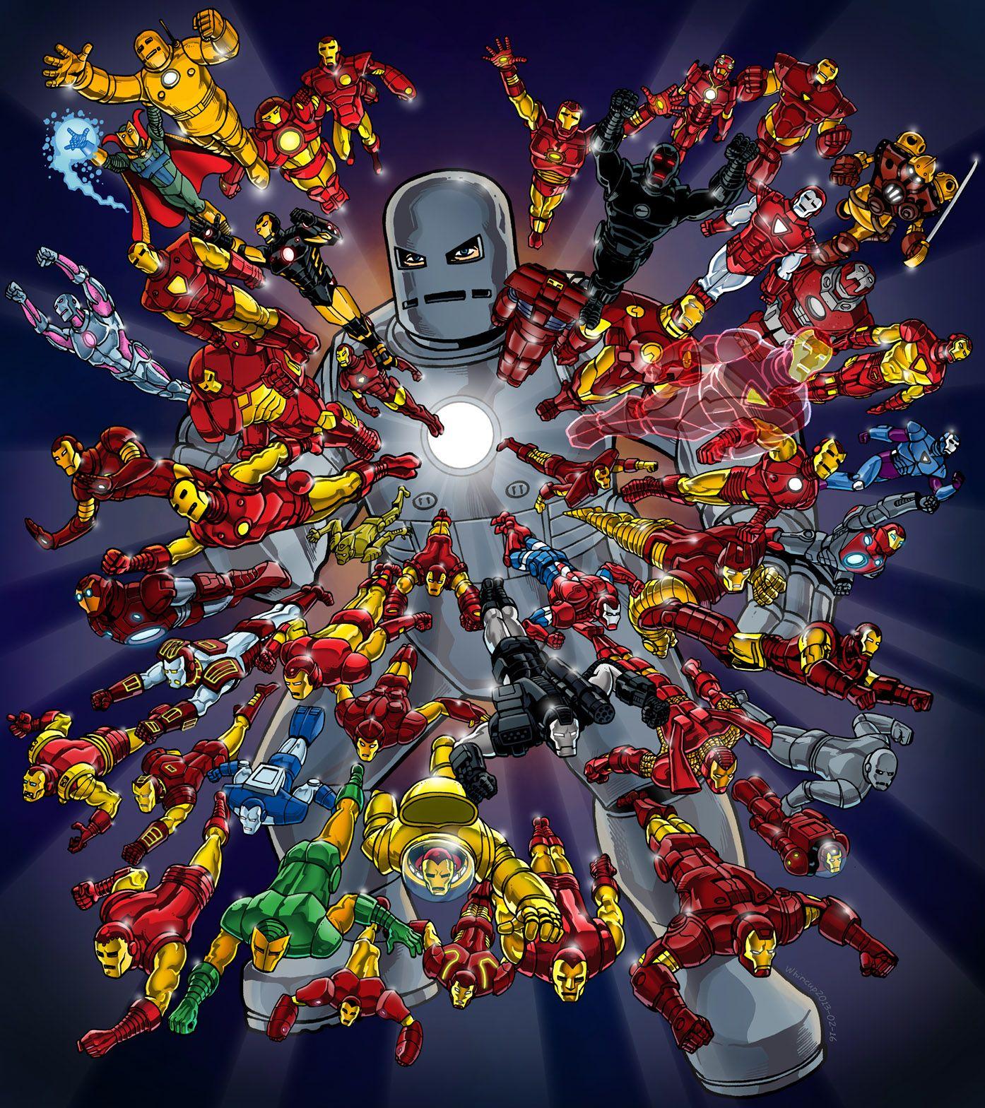 iron man 50th anniversary