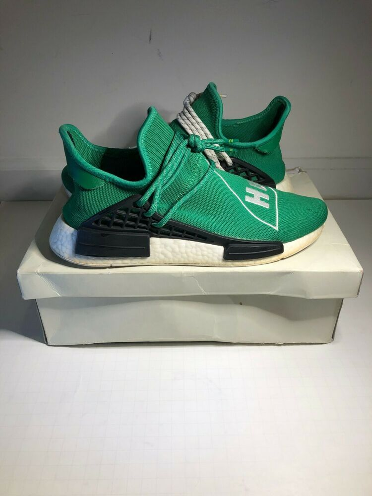 save off 3c393 7eb42 Ad)eBay - Adidas Pharrell Williams Human Race NMD Green size ...