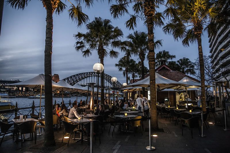The Sydney Cove Oyster Bar Seafood Restaurant Circular Quay