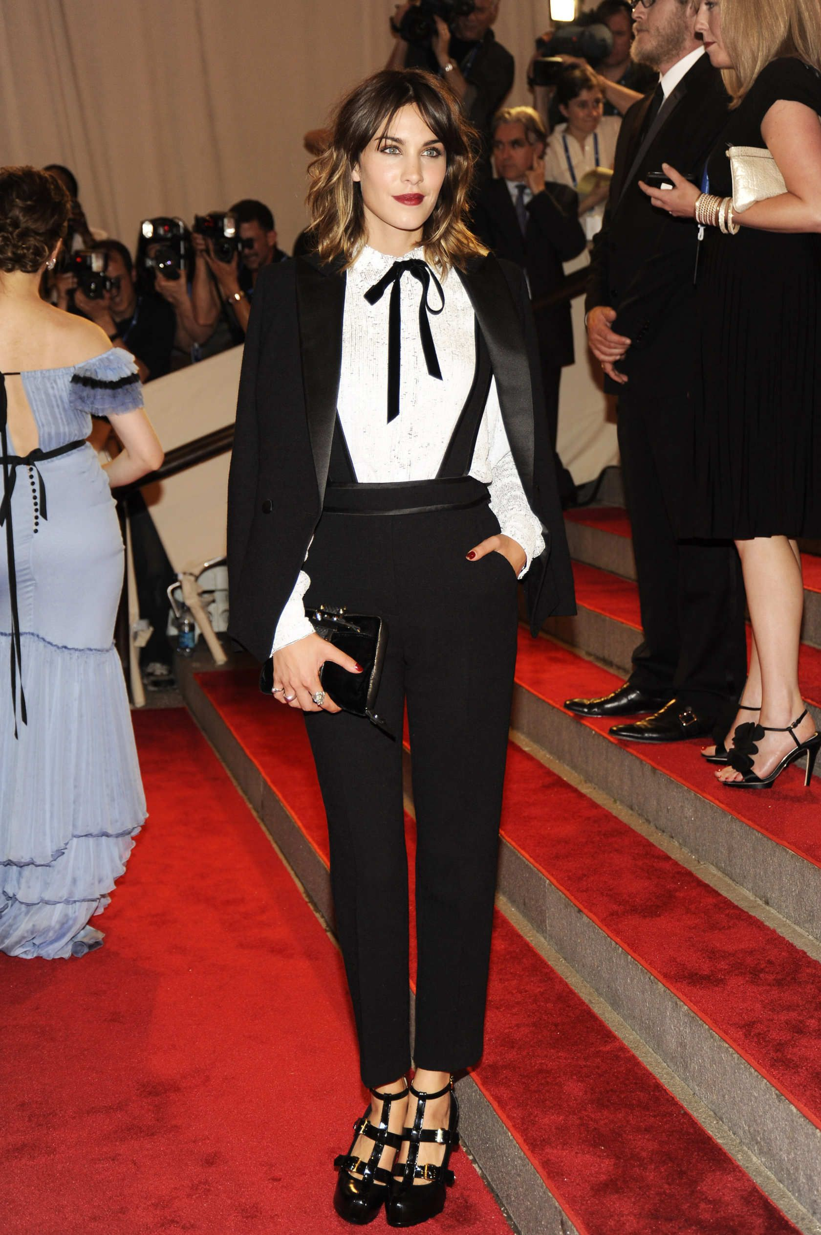 aa99767da59 Thank You for Le Smoking: The 20 Chicest Women in Tuxedos | gamine ...