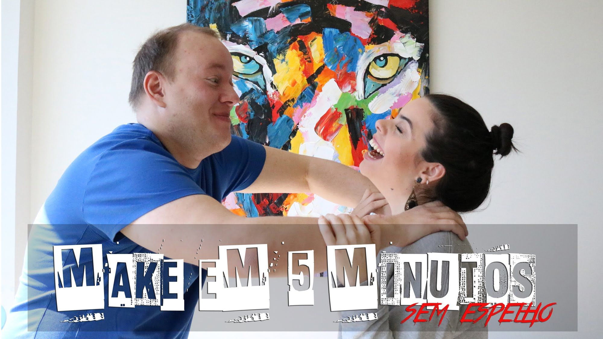 Challenged by the husband - makeup in 5min