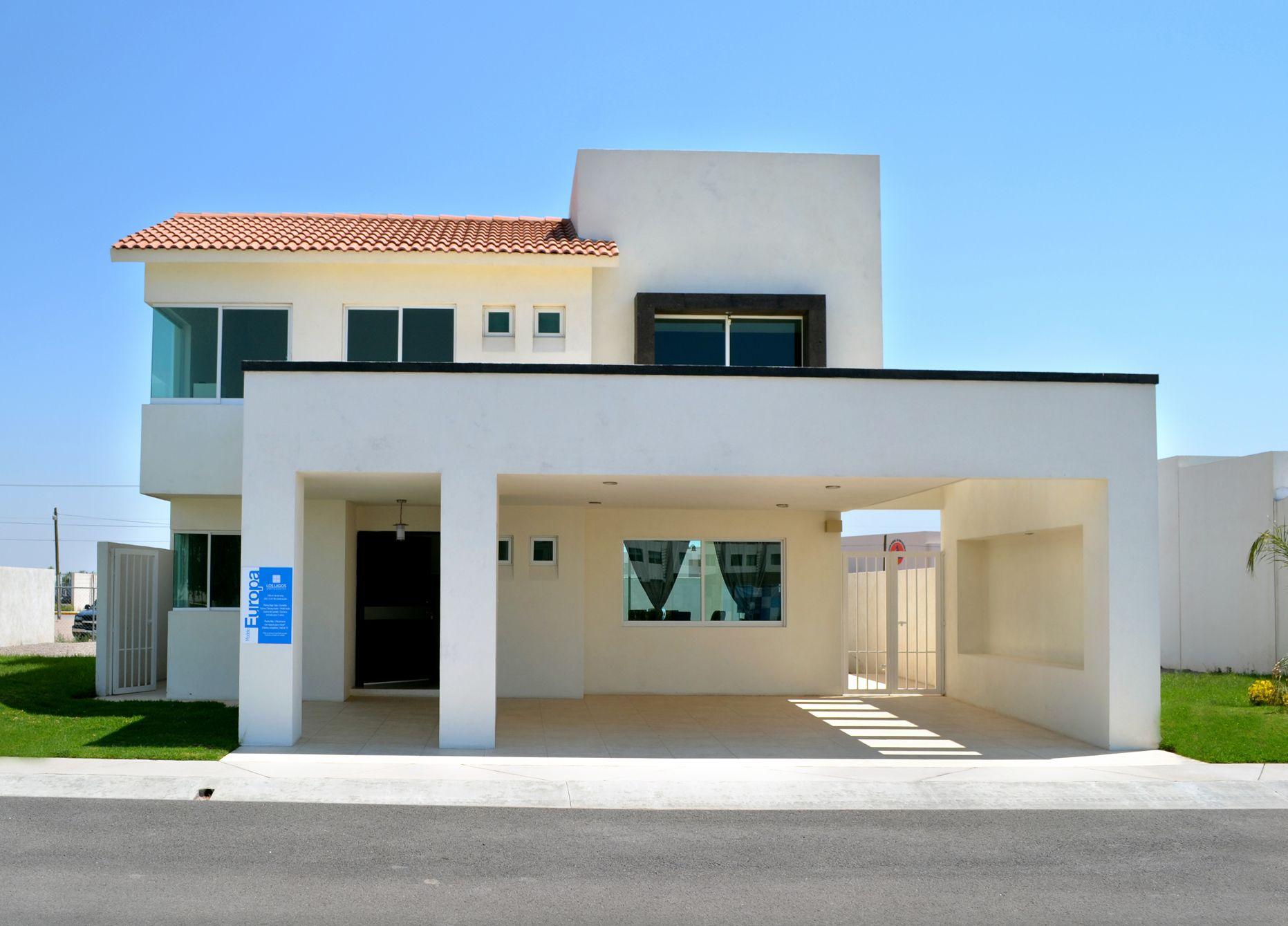 Casa europa terreno 240 m2 construcci n m2 sala for Fachadas de casas modernas en italia