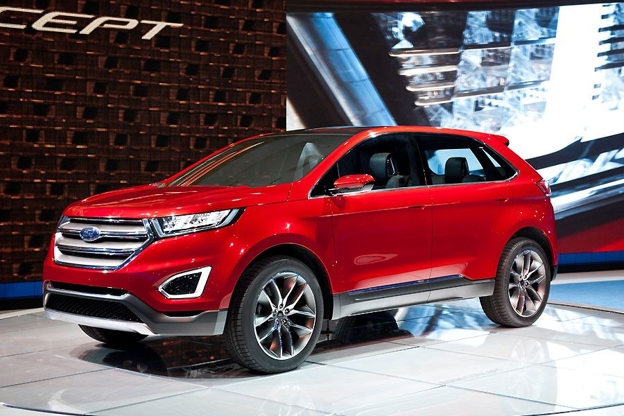Ford Edge SUV, 182 212 KS cerradas