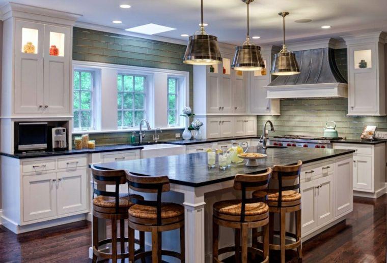 Cocina Americana Idea Para Disenar Un Espacio Increiblemente Funcional Diseno De Cocina Cocina Estilo Americano Muebles De Cocina