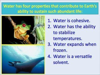 5 properties of water simplebooklet com