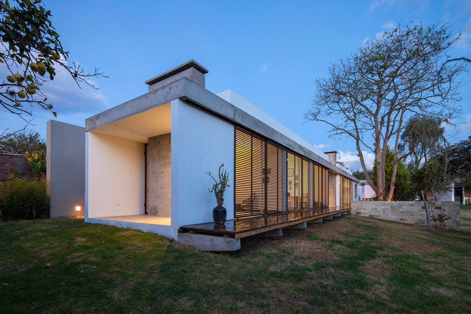 Modern architecture architecture small modern block house one