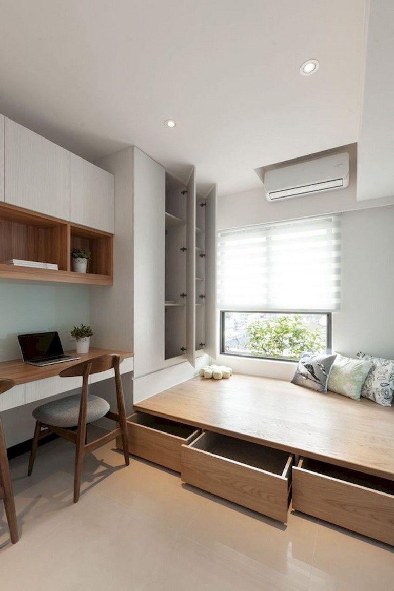 58 comfy minimalist bedroom decor ideas small rooms on bedroom furniture design small rooms id=46901