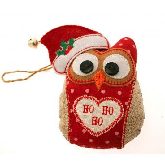 Christmas Owl with Bell from Blissful Light