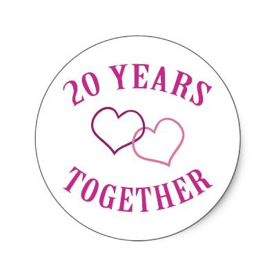 happy anniversary 20 years of love and happiness started 1693 it will continue on because we love each other more and more each passing day