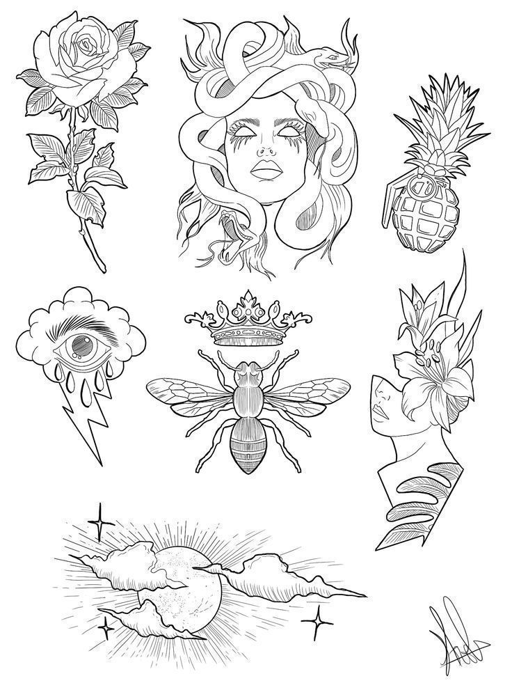 Pin en armadillo in 2020 | Tattoo flash art, Tattoos, Medusa tattoo