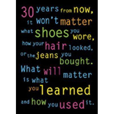 Trend Enterprises 30 years from now...ARGUS® Poster   Wayfair