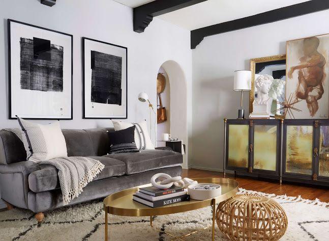 Brady S Living Room Reveal Emily Henderson Living Room Reveal