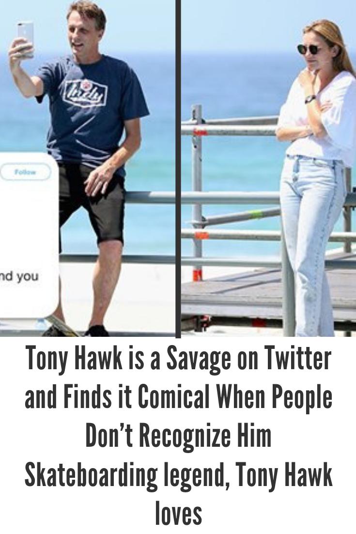 Tony Hawk is the man, the myth, and skateboard legend  The