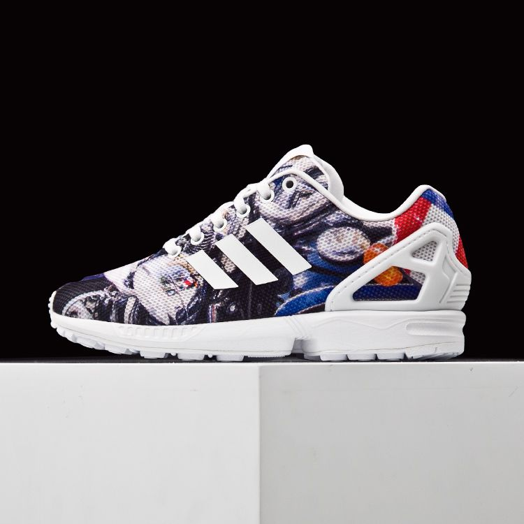 sneakers for cheap aab79 f76f0 ADIDAS ORIGINALS TORSION ZX FLUX ROYAL WHITE S75494