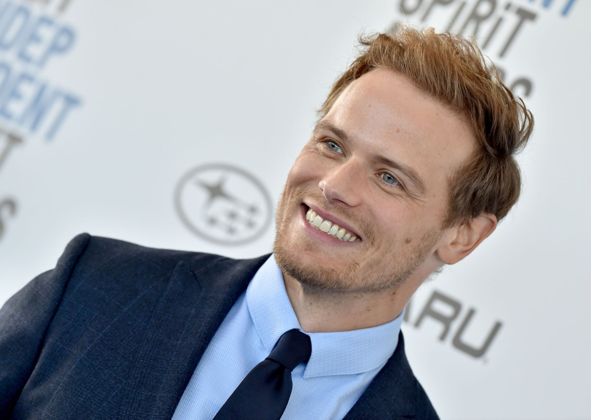 Film Independent Spirit Awards Feb 2019 Sam Heughan Outlander