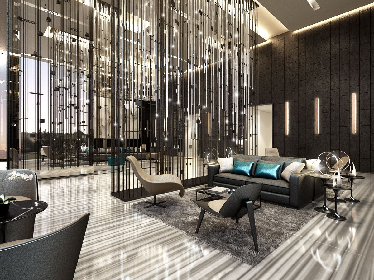 Luxury Hotel Lobby Interior Design