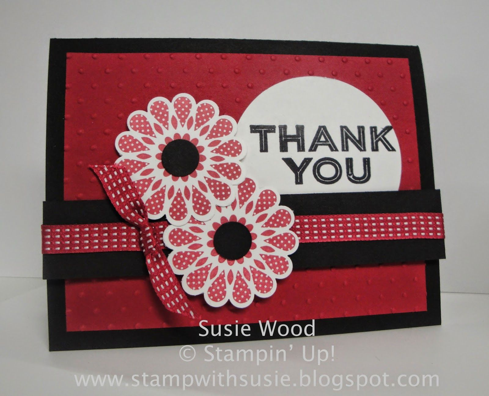 Stampin' Up!- 'Simply Create' with 'Polka-Dot Pieces'