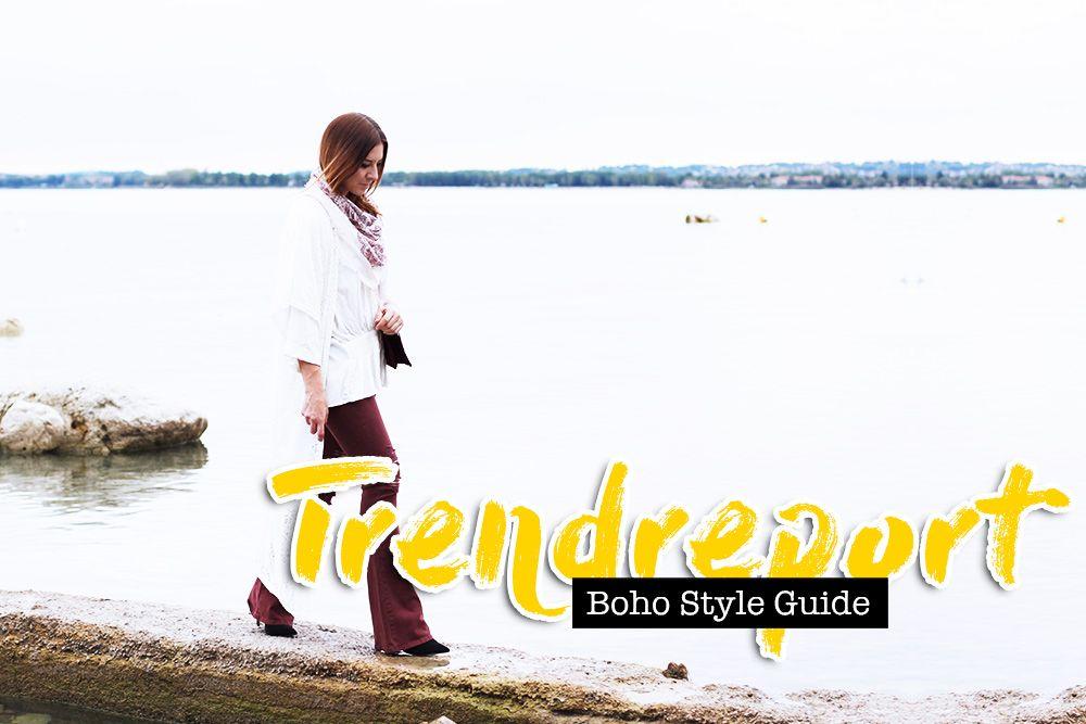 Keine Stilrichtung ist so untrennbar mit Sommer, Sonne, Leichtigkeit und guter Laune verbunden wie der Bohemian Style. In der warmen Jahreszeit und insbesondere zur Festival-Saison ist er auch dieses Jahr wieder top aktuell. Alles dazu jetzt in meinem Boho Style Guide.