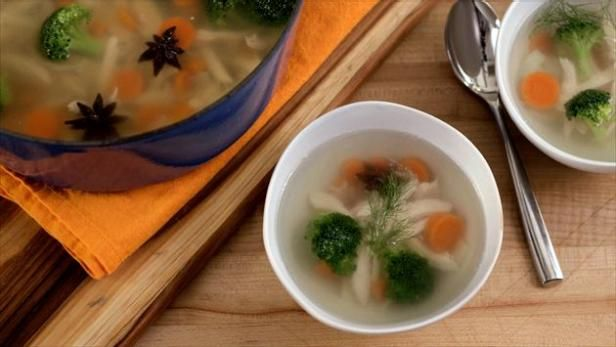 This Soup Is Full Of Immunity Boosters Such As Garlic And Star Anise