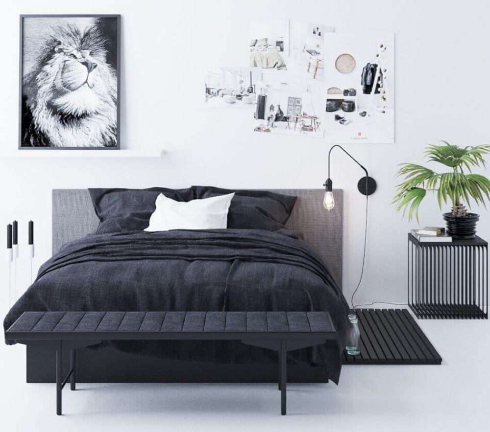 Bedroom by Aeroslon 3D model