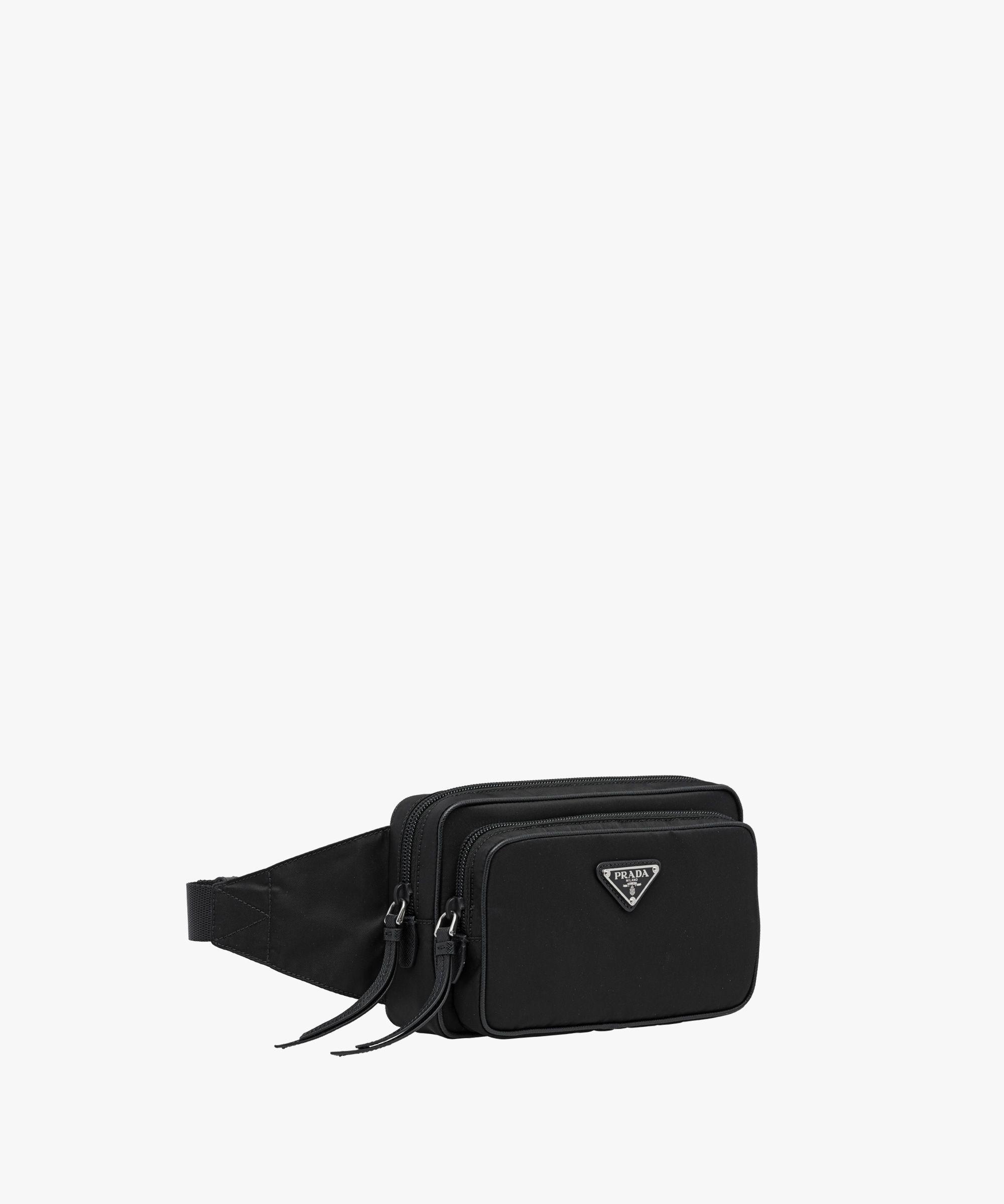0b715ad3 Prada - Nylon and leather belt bag | BAGS | Leather belt bag, Bags ...