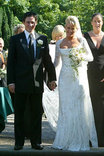 Davinia Taylor and Dave Gardner wedding | dresses | Pinterest